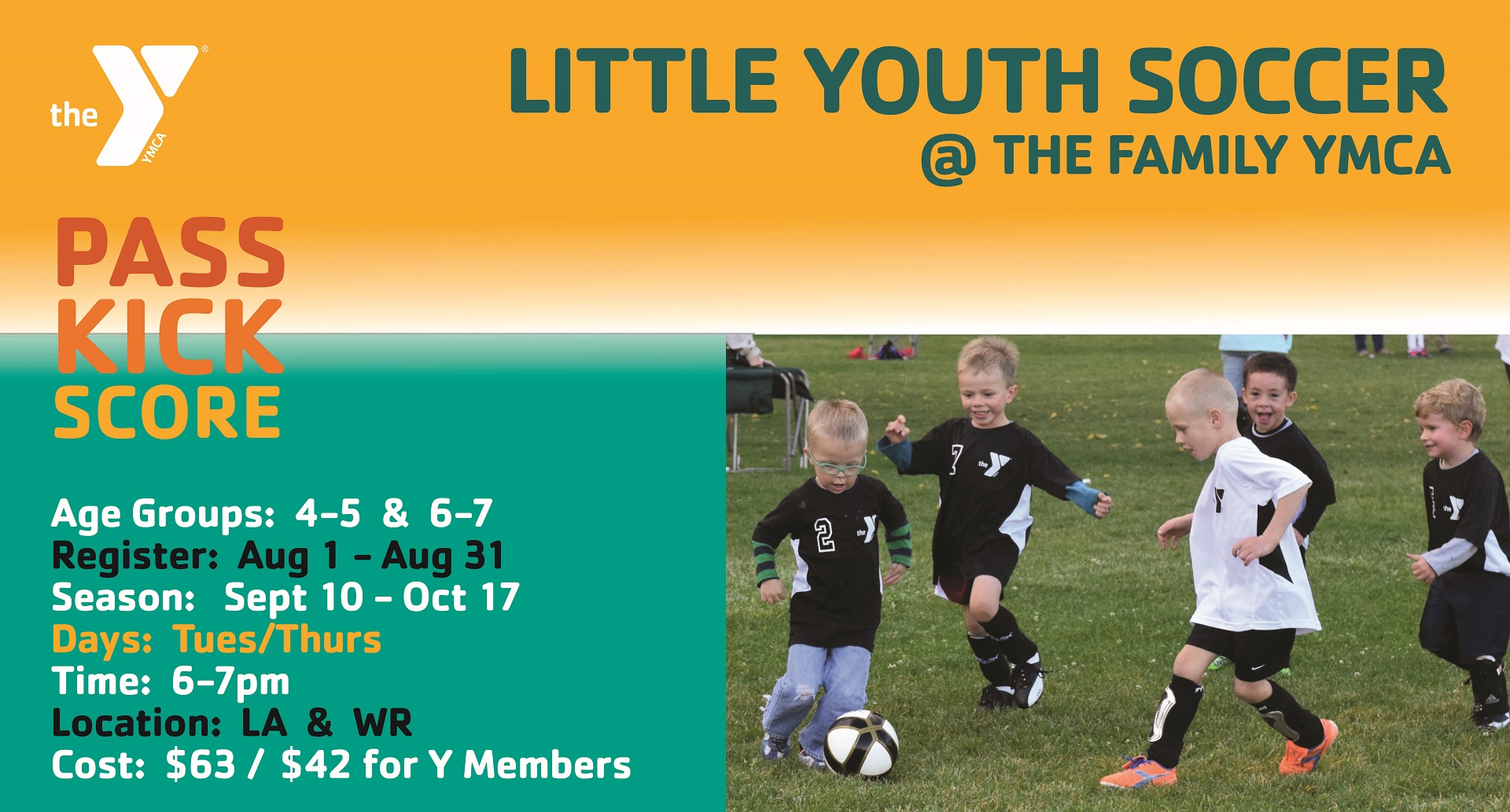 Little Youth Soccer Fall 2019